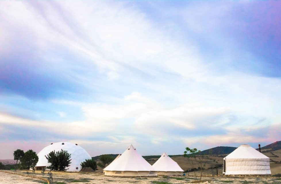 Glamping Tents & Dome