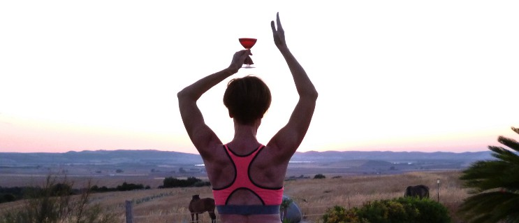 wine and yoga retreat 2020